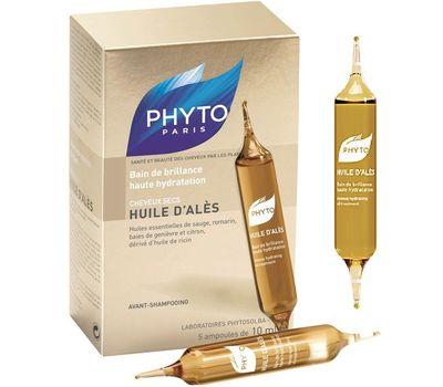 Фитосольба АЛЕСА МАСЛО Масляная баня для интенсивного увлажнения Phyto huile d ales Phytosolba PHYTO