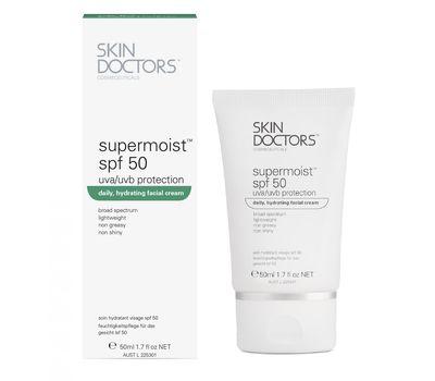 Supermoist SPF 50 Увлажняющий, солнцезащитный крем для лица