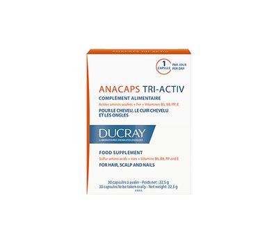 Дюкре Анакапс три-Актив для волос и кожи головы №30 (Ducray, Биодобавка к пище)