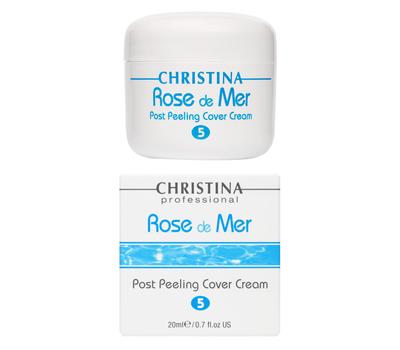ROSE DE MER POST PEELING COVER CREAM Постпилинговый защитный крем (шаг 5), 20 мл