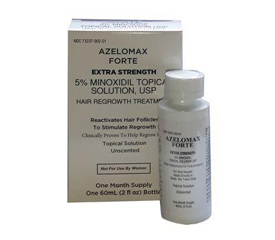 Лосьон Азеломакс форте (Azelomax Forte) с 5 % миноксидлом