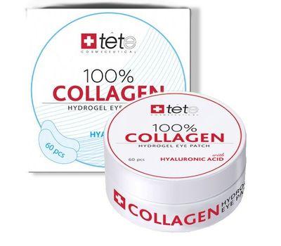 Коллагеновые патчи под глаза/100% collagen hydrogel eye patch